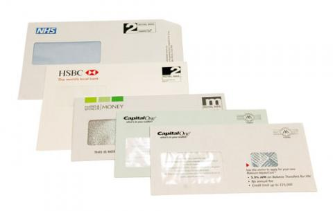 Double window envelopes, Printed envelopes and more . . .
